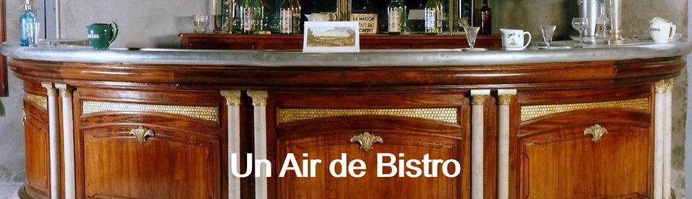 UN AIR DE BISTRO à L'ANCIENNE FORGE TOURNUS